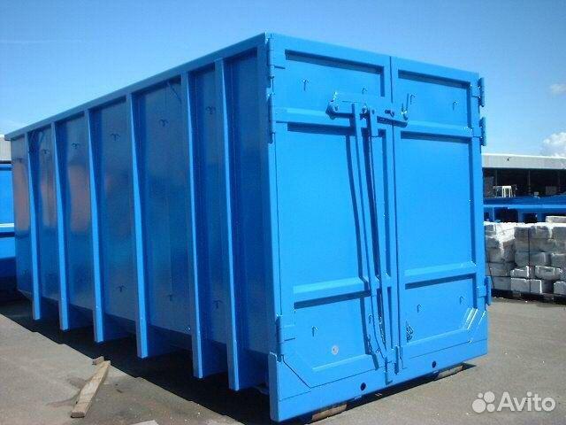 Контейнер 35 м3 кеске и пресс-контейнеры 12 м3  89062174644 купить 1