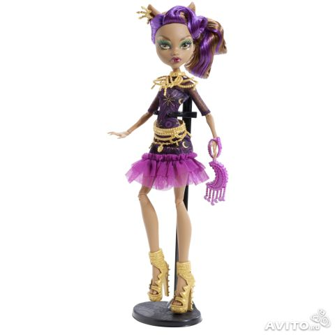 Нов. кукла Monster High Клодин Вульф (3)— фотография №1