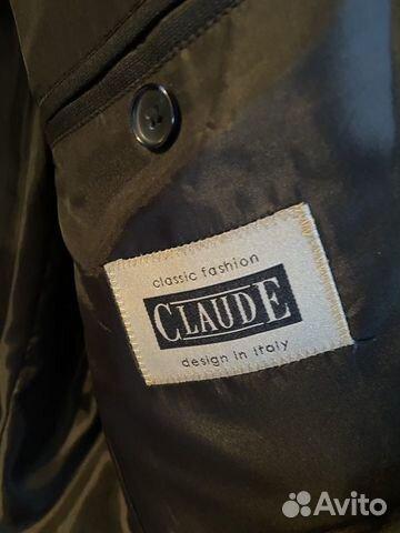 Пиджак мужской темно-серый Италия, р-р 50-52