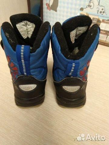 Ботинки мембрана р.22  89158262092 купить 2