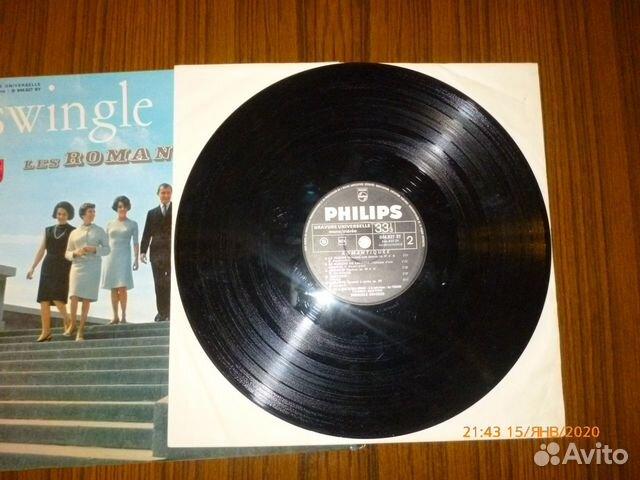 Винил swingle singers. LES romantiques. 1965 г 89095451578 купить 4