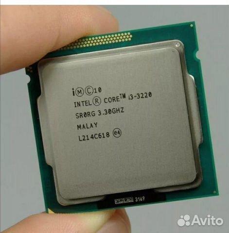 CPU i3 3220