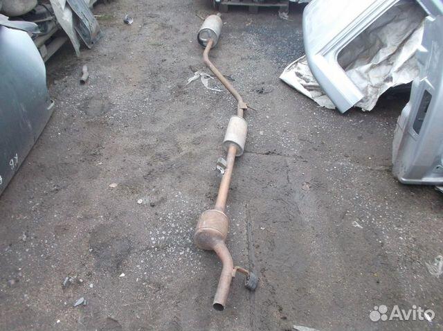 глушитель для рено логан цена фото