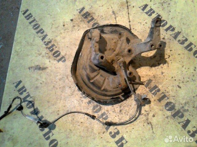Кулак поворотный задний правый Skoda Octavia (A5)