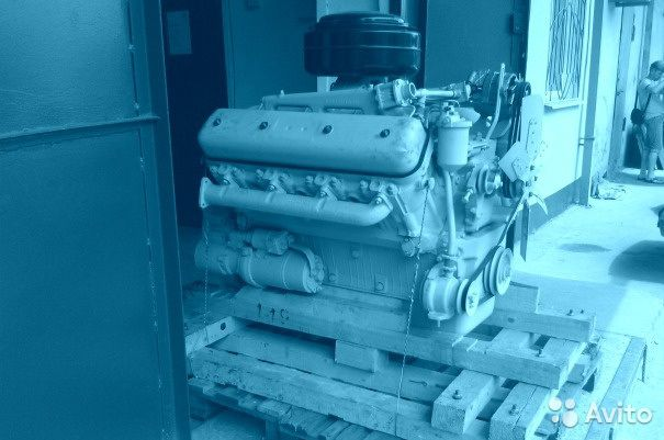 Нетурбированный Двигатель ямз 238 гм 2 89056335962 купить 1