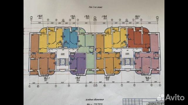 2-к квартира, 80 м², 4/8 эт. 89173009667 купить 3