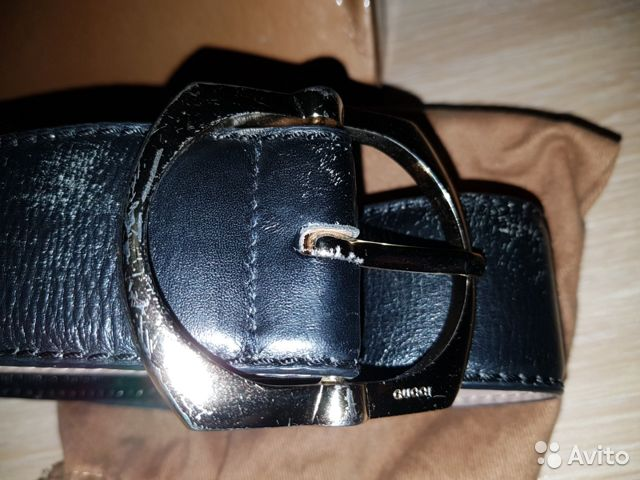 Ремень мужской Gucci оригинал 89655295005 купить 2