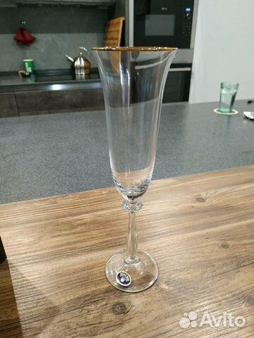 Фужер для шампанского,бокал Bohemia Sofia