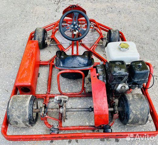 Картинг Honda Gx270 в отличном состоянии 89066239724 купить 4
