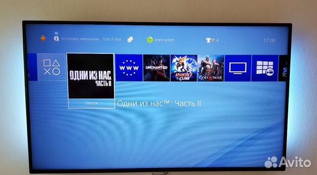 Playstation 4 + last of us 2  купить 4
