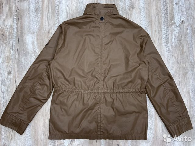 Мужская коричневая прорезиненная куртка Calamar  89218780739 купить 10