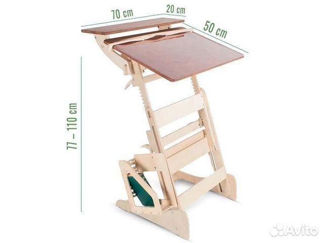 Письменный стол парта для школьника  89219018263 купить 4