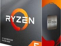 Процессор Ryzen 5 3600BOX, ZEN2, AM4, Matisse