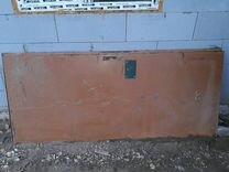 Железная входная дверь бу, обмен