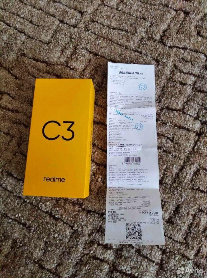 Realme C3 3/64Gb  89371469317 купить 5
