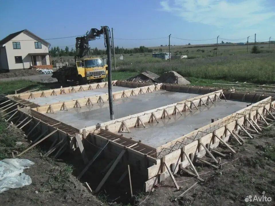 Бетонные работы/коттедж строительство  89145875120 купить 5
