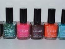 Лаки для ногтей inglot новые 13 шт