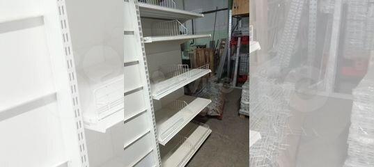 Стеллажи белые бу купить в Республике Татарстан | Для бизнеса | Авито