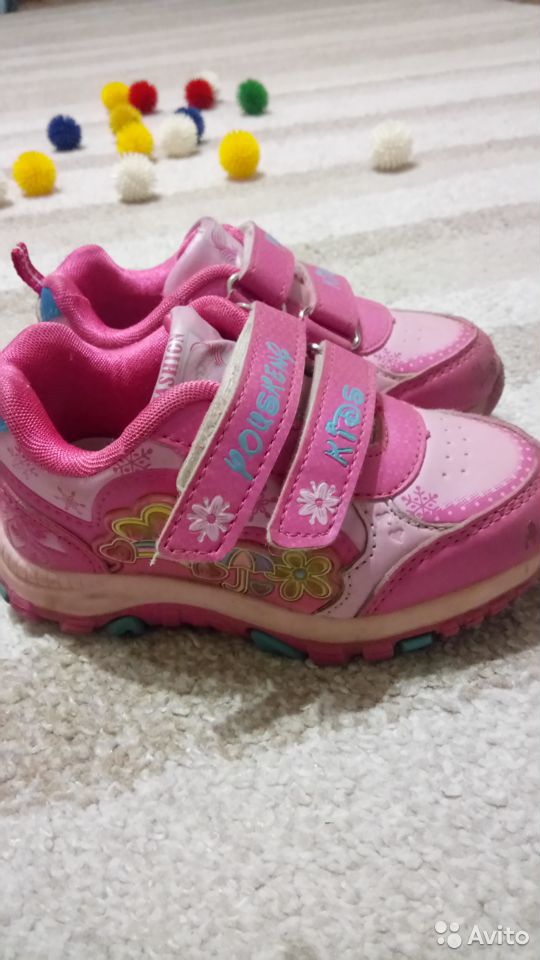 Кроссовки для девочки, р. 25  89213578617 купить 3