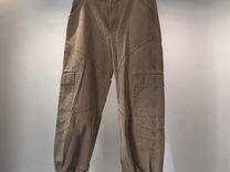 Штаны/брюки/джинсы песочного цвета