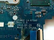 Материнская плата Lenovo G570, G575
