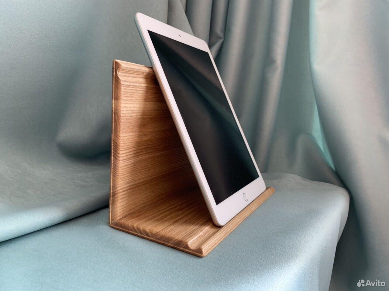 Подставка для планшета. Из дерева Ясень  89061500826 купить 4