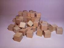 Кубики из дерева