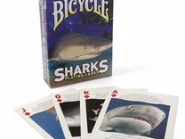 Карты Bicycle Sharks