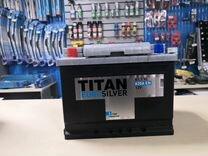 Аккумулятор Titan EuroSilver 61Ah (прям.пол.)