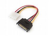 Переходник Generic SATA на Molex 4 pin