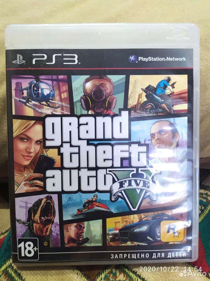 Игра GTA 5 для PS3  89501074934 купить 1