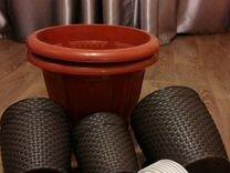 Горшки для растений с подставками