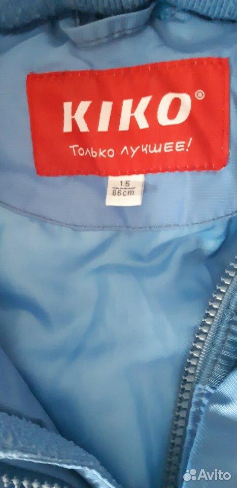 Зимний комбинезон Kiko р 86  89832071752 купить 2