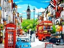 Картина по номерам - Лондонская улица