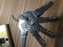 Замок cisa с ключами б/у — Ремонт и строительство в Москве