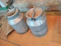 Бидоны алюминиевые б\у, 40 л, советские