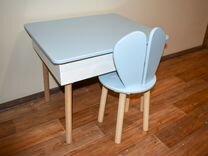 Детский стол с ящиком