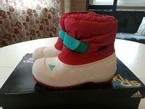 Осенне-зимние сапоги adidas 24 р