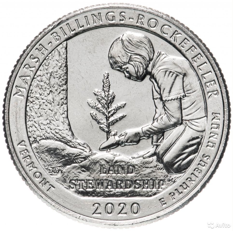 Монеты США памятные 1 доллар и 25 центов 89605390460 купить 4