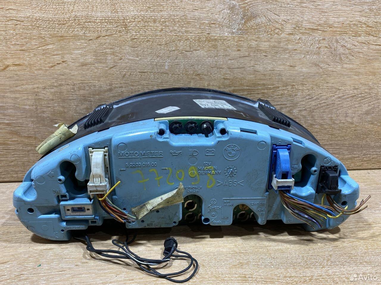 Панель приборов BMW E36 бензин 772098  89534684247 купить 4