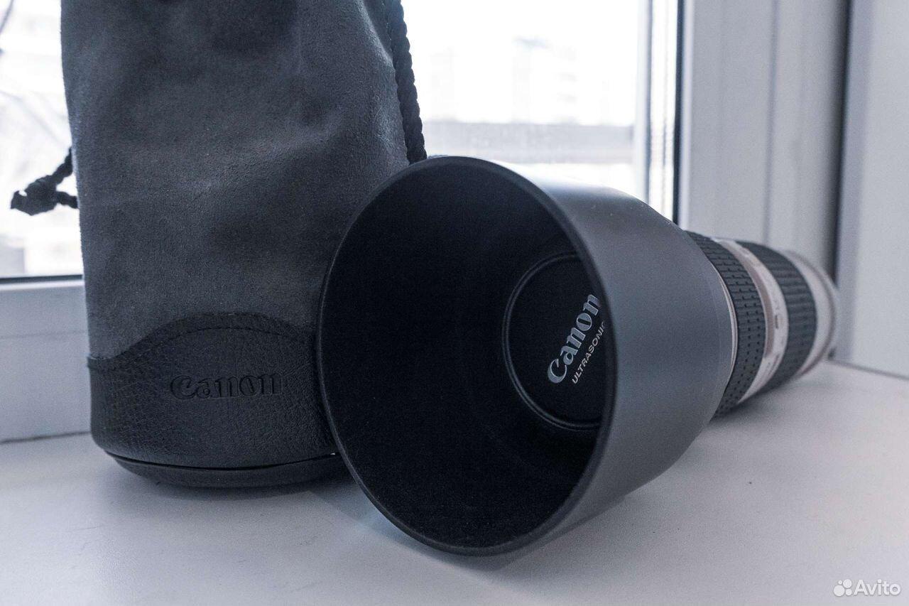 Объектив Canon 70-200 f4  89149047200 купить 3