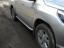 Toyota - Пороги из нержавеющей стали