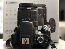 Canon 1100D Kit 18-55mm / 6500 пробег / Полный к-т