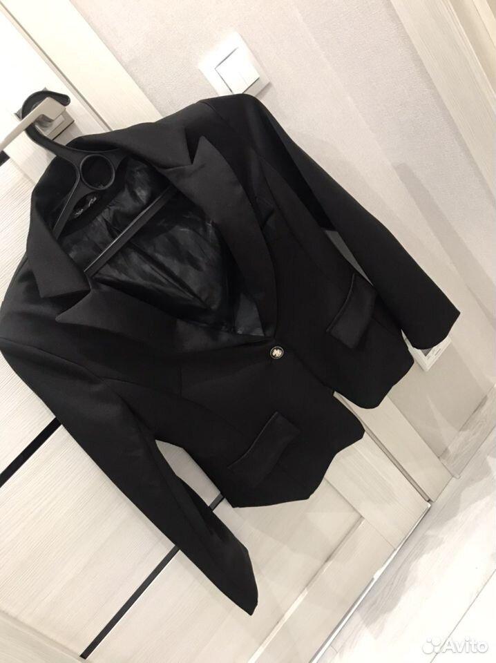 Черный пиджак женский  89237291056 купить 2