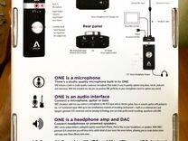 Звуковая карта Apogee One iOS & Mac + case (новая)