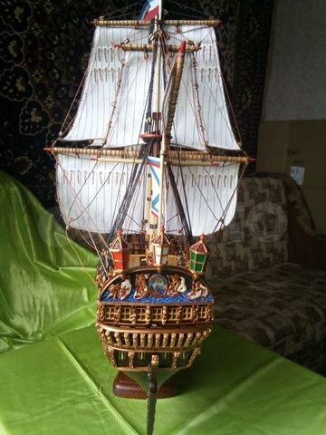 продам девушка модель корабля ручной работы