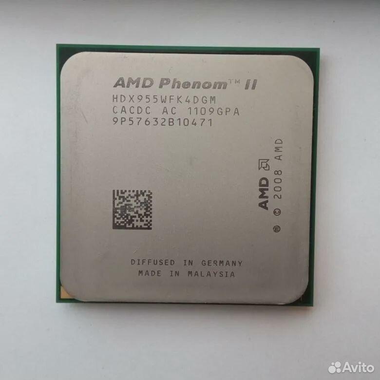 Amd phenom ii x4 955