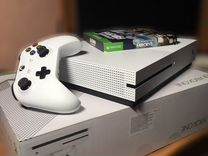 Xbox ONE S 500гб + игры