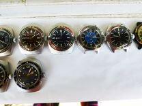 Часы Амфибия, Командирские, и др. cccp. 20 разных