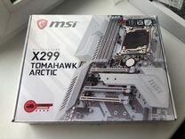 X299 tomahawk arctic Socket 2066
